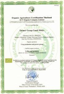 1 sertifikat kopi act