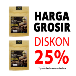 grosir Kopi organik arabica 500gr with enema bag